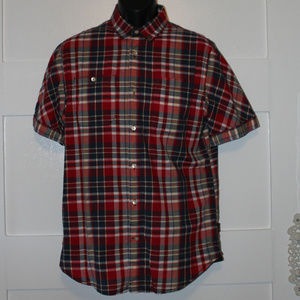 DKNY Jeans Short Sleeve Button Down